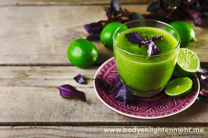 Raw Recipe Lymph Cleaning Wild Juice