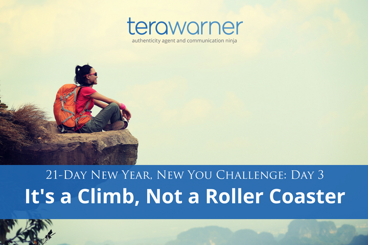 Tera Warner, new year's detox, roller coaster, bandwagon