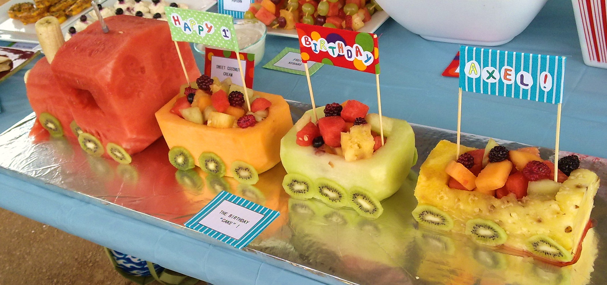 Creative food ideas for kids birthday party for Creation cuisine