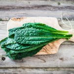 Raw Food Recipe: Raw Green Garlic Kale Chips