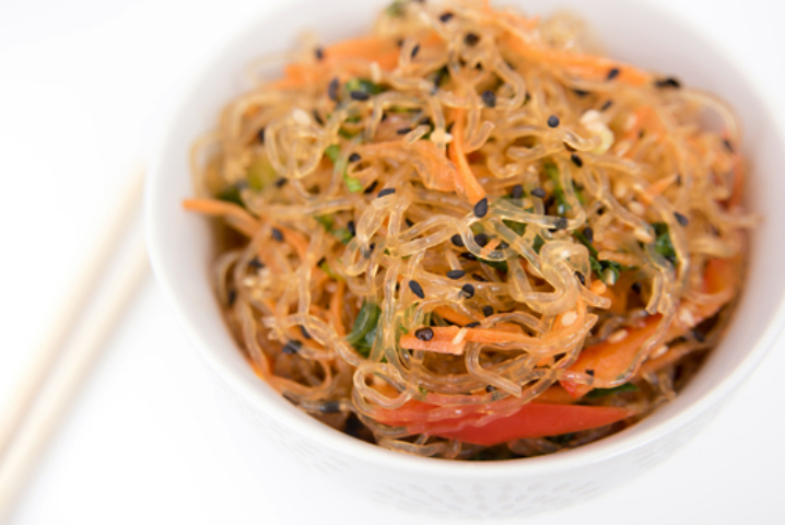 Kid Friendly Raw Food Recipe: Asian Ginger Kelp Noodle Salad