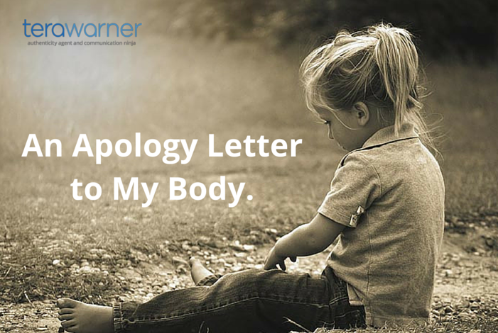 Healing Your Body Image:  An Apology Letter