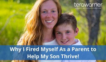 Why I Fired Myself As a Parent So My Son Could Thrive