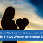 [New Year, New You] Day 10: Life Goes Where Attention Flows
