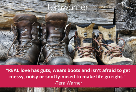 Tera Warner, communication, Valentine's Day,