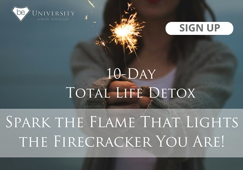 10-day detox, authenticity, be yourself, communicate with courage