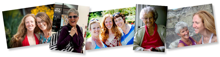 natural beauty mothers and daughters makeover