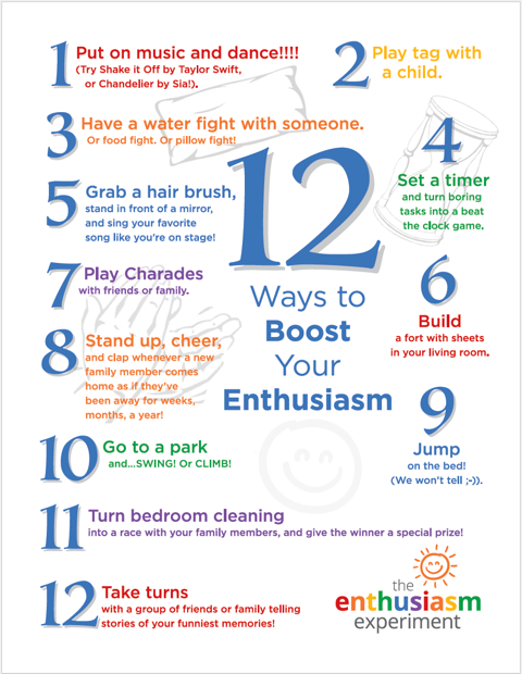 communication challenge, free download, ways to boost your enthusiasm