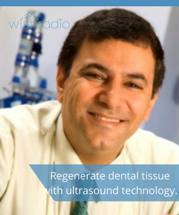 Dr. Tarek El-Bialy, ultrasound technology, stem cell research, regenerate dental tissue, invisalign orthodontics