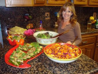 How to host a raw food dinner party gsd countdown 4 days to go i highly recommend having your neighbors for a round up of your own make it easy on yourself and use some of angela elliotts easy raw food recipes from forumfinder Image collections