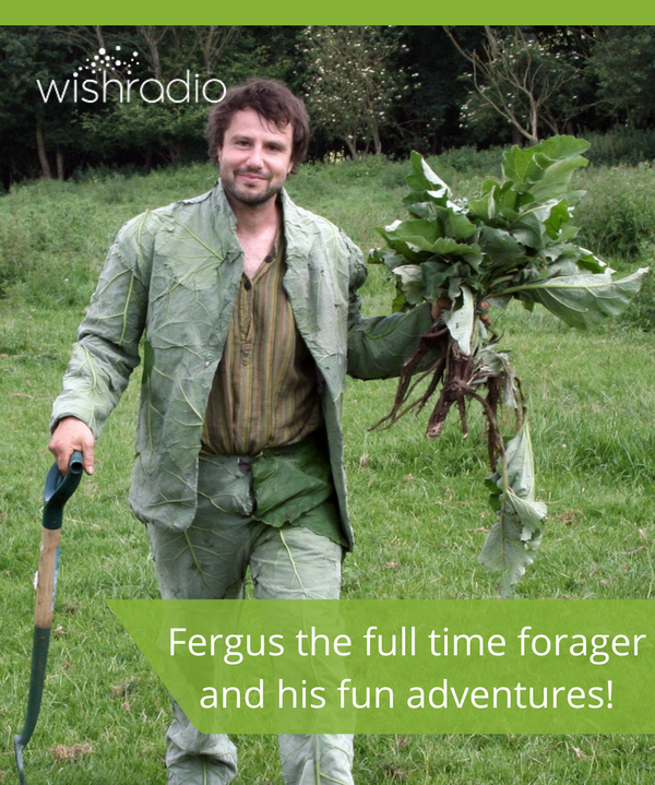 fergus drennan, wild living, wild foods, sustainable living, self-reliance
