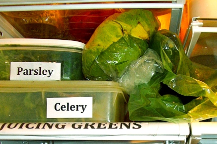 Label Your Fridge Shelves for Raw Kitchen Organization and Efficiency