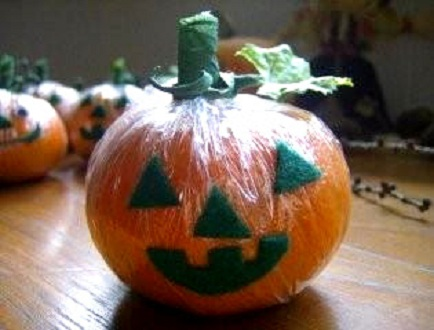 Raw Vegan Recipes: Darling Clementine Pumpkins for a Healthy Halloween