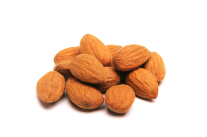 Raw almonds can help bring you the joy of sleep.