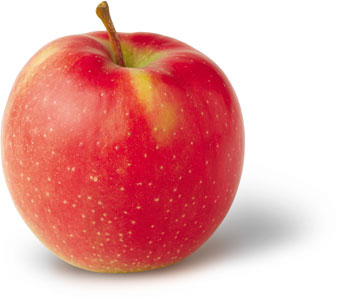 healthy apple, raw food apple