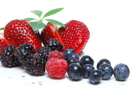 Raw Food Recipe: Red-White-and-Blue Fruit Salad