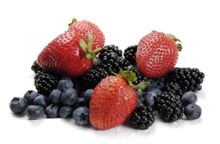Blueberry and Strawberry Raw Food Recipes