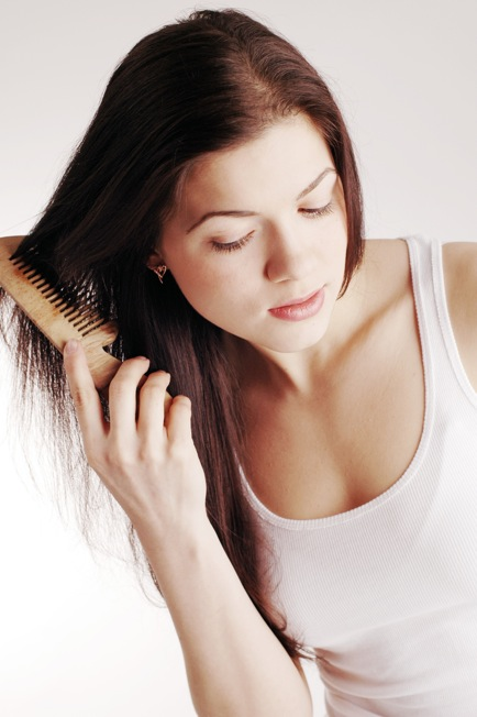 healthy hair and natural beauty makeover