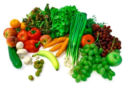 healthy fruit and vegetable detox
