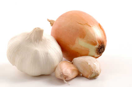 Garlic and Onions for Effective Deep Tissue Detox