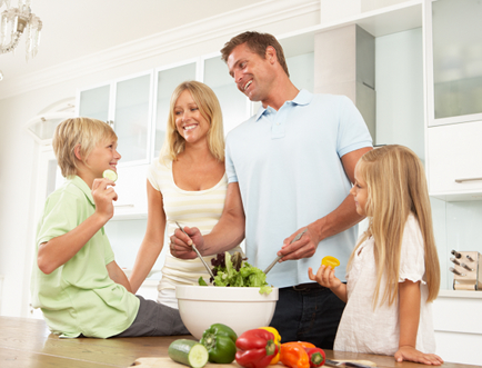 Family Transition to Raw Foods