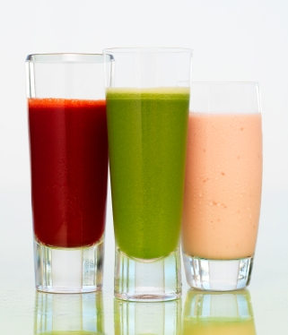 Juice vegetables to increase comsumption