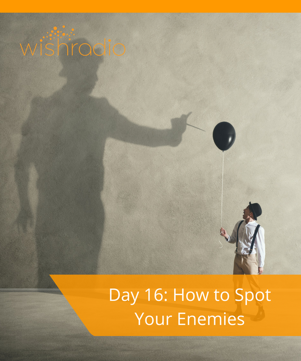 Tera Warner, new year's challenge, spot your enemies, communication, courage