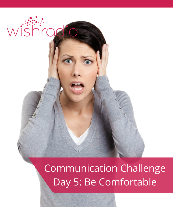 Tera Warner, communication challenge, comfortable, face
