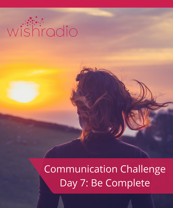 communication challenge, be complete, how to end conversations, Tera Warner,